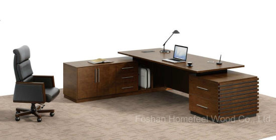 Best Selling Modern High End Executive Desk Office Furniture (HF-01D28) pictures & photos