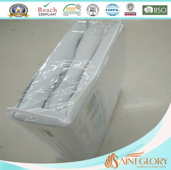 Dust Mite Proof Polyester Zippered Mattress Encasement Cover Protector pictures & photos