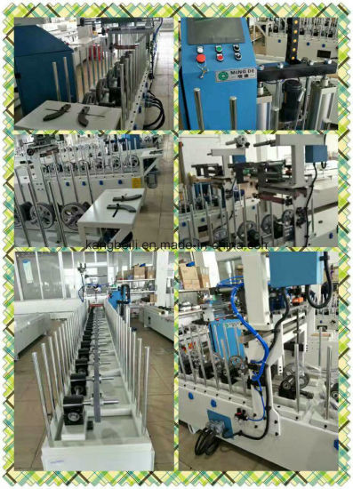 Drawer or Window Canbinet Decorative Woodworking Laminating Coating Machine pictures & photos