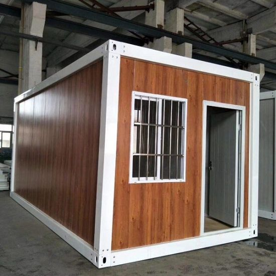 Easy Installed 3X6m Prefabricated Assemble Portable Mobile Movable Removable Modular Container House for Temporary Office pictures & photos