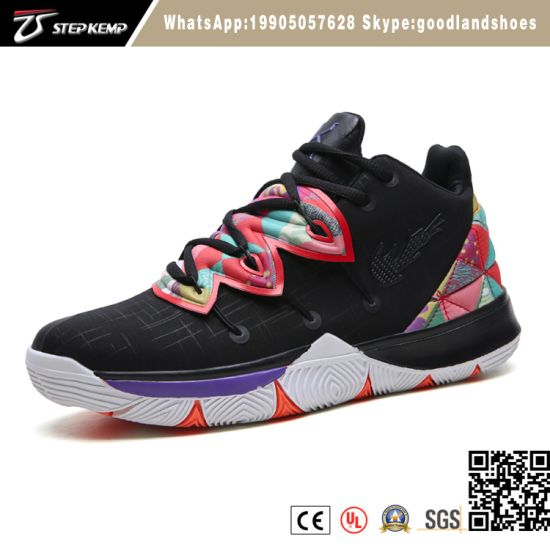New Design Fashion Mens Stylish Casual Shoes Basketball Shoes Various Colors for Adult 6007