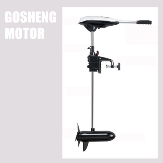 High Quality 34 Lbs 12V Electric Trolling Motor for Inflatable Boat Fishing