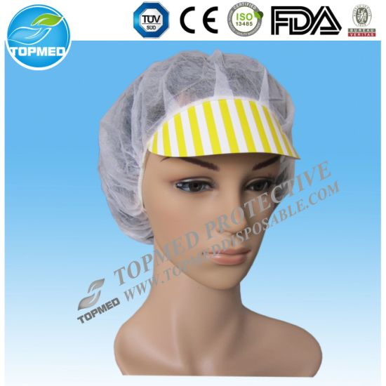 Snood Cap for Female Nonwoven Disposable Sister Cap for Worker
