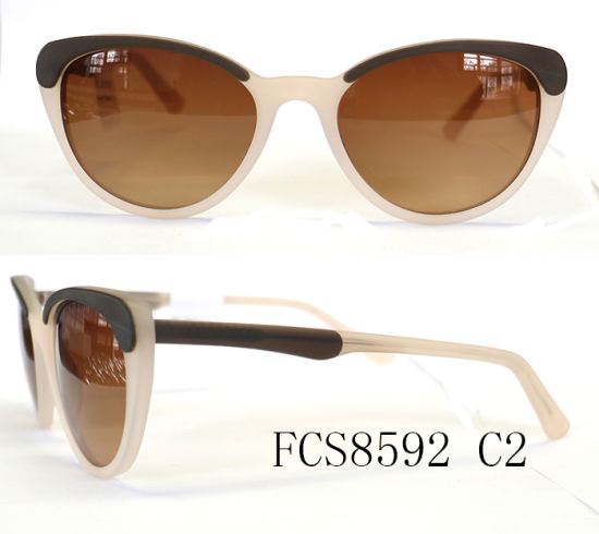 Hot Sale Fashion Acetate Sunglass for Erope pictures & photos