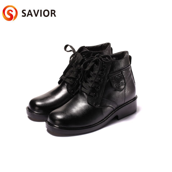 Savior Full Leather Lithium Battery Heated Shoes Resistance Heated Shoes pictures & photos