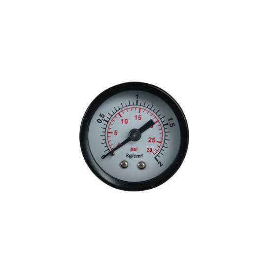 """Y40mm 1.5"""" Black Steel Psi Pressure Gauge"""