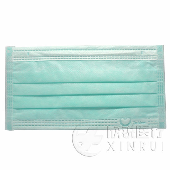 Dental 3-Ply Medical Supply Protective Disposable Flu Face Mask with Ear Loop
