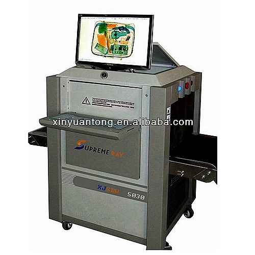 Dual Energy X Ray Baggage and Parcel Inspection Scanner (XJ5030C) pictures & photos