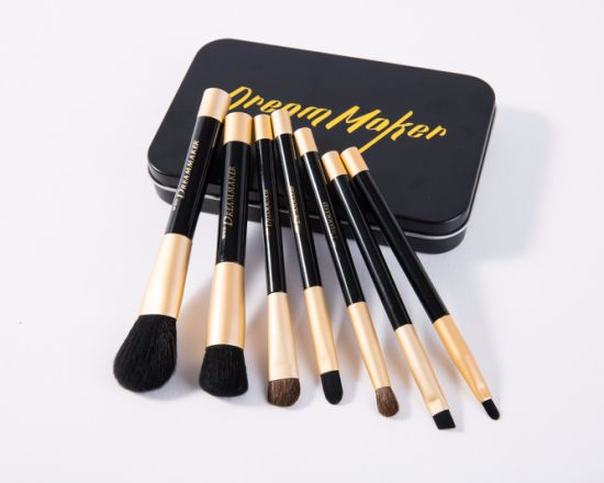New Design 7PCS/Set Iron Box Magnet Makeup Brush pictures & photos