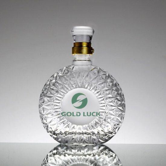 200ml/250ml/500ml/700ml/750ml/1000ml Alcohol/Liquor/Spirits/Vodka/Whiskyalcohol/Liquor/Spirits/Vodka/Whisky/Rum/Water/Brandy/Hennessy/Xo/Wine Clear Glass Bottle