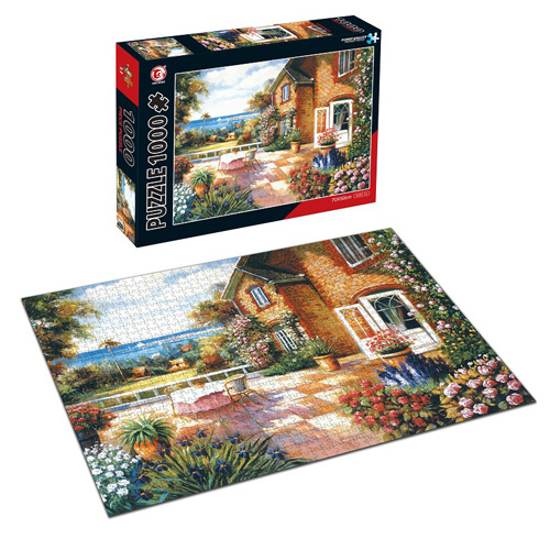 Educational Toy DIY Game 1000PCS Big Jigsaw Puzzle (H8456055) pictures & photos