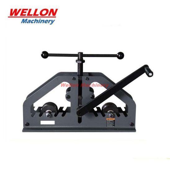 Manual Pipe & Tube Roll Bender (TR-60) Roller Bending Machine
