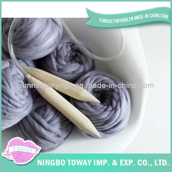 China Hot Sale Acrylic Wool Cotton Warm Crochet Scarf China