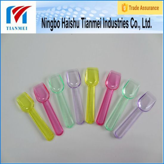 Custom Disposable Mini Yogurt Plastic Spoon pictures & photos