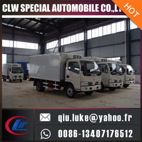 Refrigerator Cooling Van, Mobile Cold Room, Refrigerated Truck for Sale pictures & photos