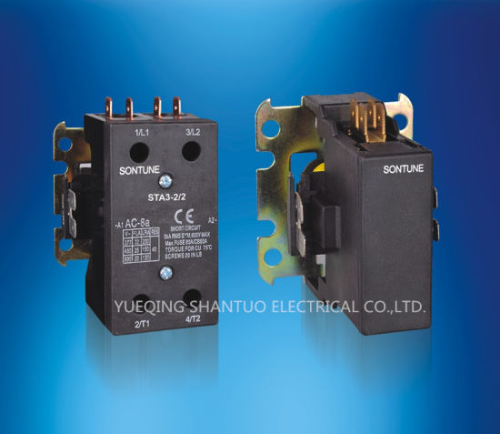 Sontune Sta-N 1p 20A Electrical Air Conditioning Magnetic Contactor pictures & photos
