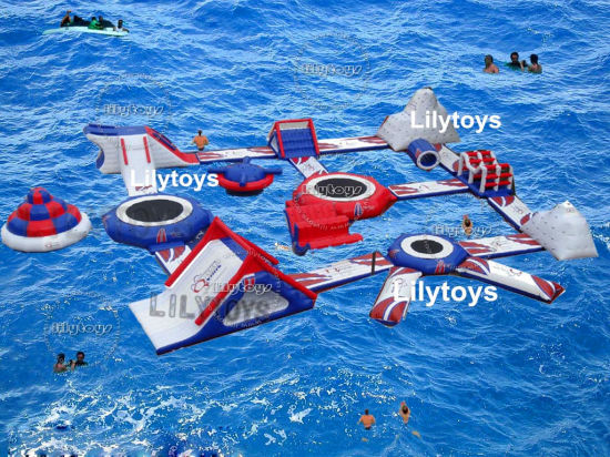 Hot Lake Aqua Water Park Inflatables Beach Park for Beach pictures & photos