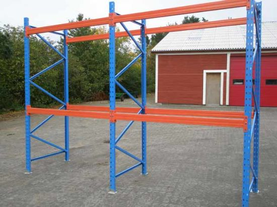 Customized Adjustable Heavy Duty Steel Material Storage Pallet Racks pictures & photos