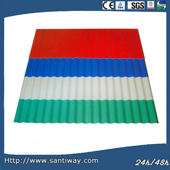 China Factory Color Corrugated Metal Roofing Sheets for Roofing