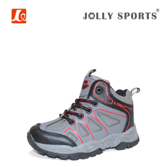 Children Outdoor Hiking Shoes for Boys and Girls pictures & photos