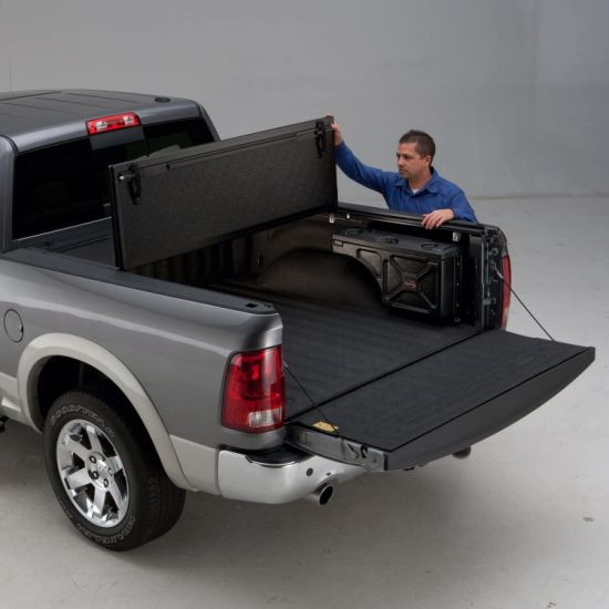 Auto Parts Pickup Hard Flod Tonneau Cover for Chevrolet/Dodge/Ford/Gmc/Nissan/RAM/Toyota