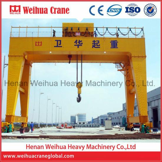 Weihua Mobile Double Girder Gantry Crane Price 10t 20t 40t 50t