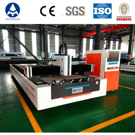 6000W High Power CNC Fiber Laser Cutting Machine for Sheet Metal Steel