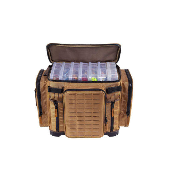 Waterproof Fishing Tackle Bag Premium Tackle Storage with No Slip Base