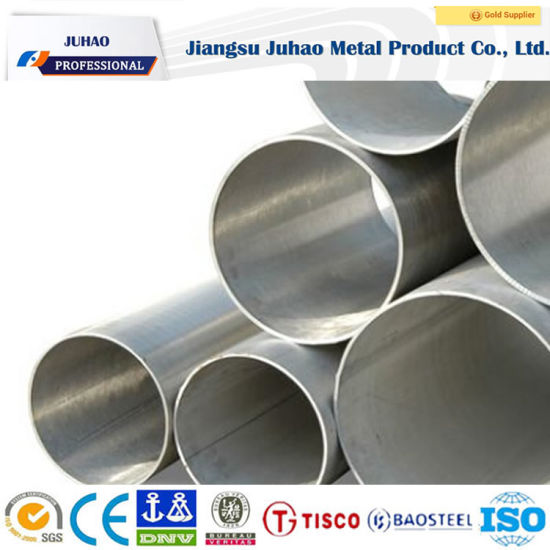 ASTM A554 201/304/316/316L/410/430 Stainless Steel Round Pipe pictures & photos