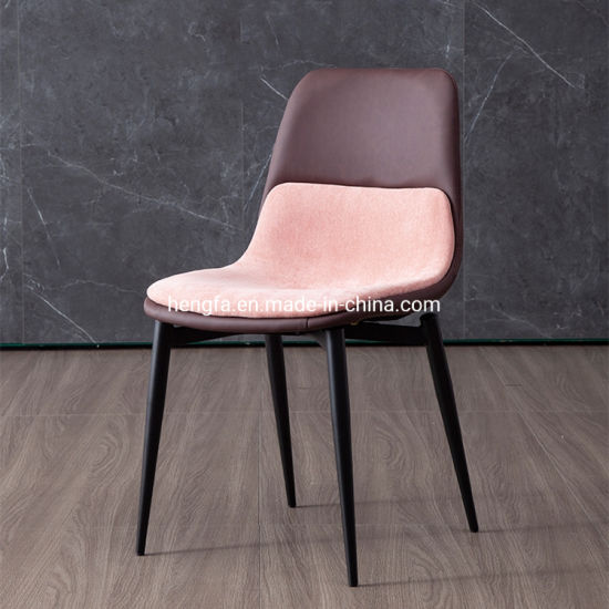 China Modern Restaurant Hotel Good Sale Upholstered Leather Fabric Dining Chairs China Outdoor Chairs Dining Chair