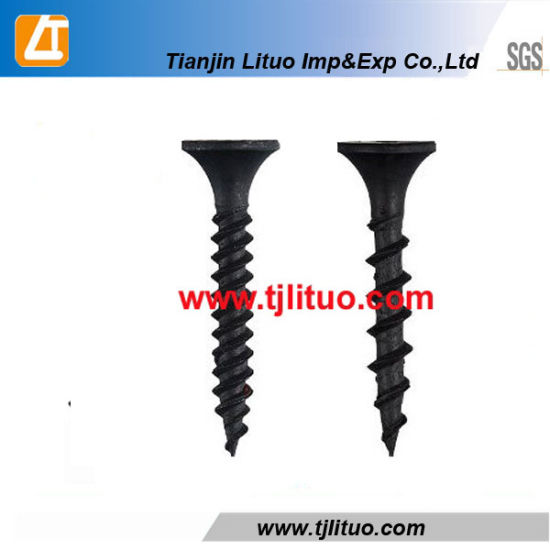 #8 x 1 3//8 Coarse Drywall Screws//Phillips//Bugle Head//Steel//Black Phos Carton 2,000 Pc