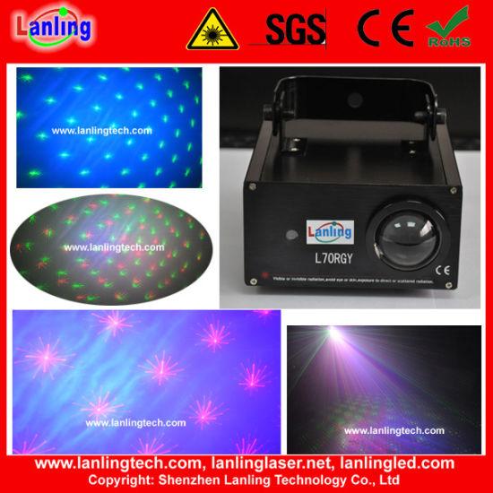 100mw Romantic Star Mini LED Laser Disco Light