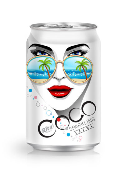 330ml Sparkling Coconut Water 2