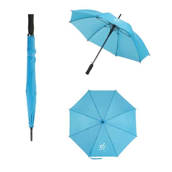 Customized Promotional Cheap Umbrella Business Straight Golf Umbrella pictures & photos