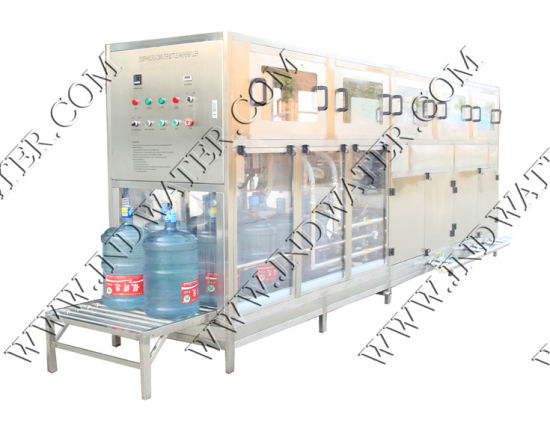 Mineral Water Washing Filling Capping Machine for 18.9L Bottle (JND100) pictures & photos