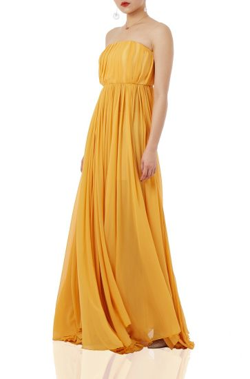 P1709-0131-Y 2021 Spring and Summer Fashion Women Evening Dresses