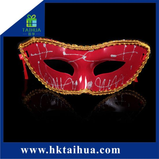 Manufacturer Made in China Simple Design Carnival Halloween Masquerade Party Eye Mask