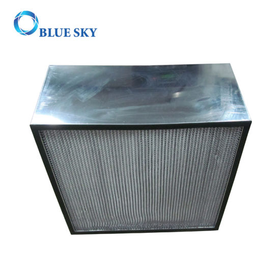 High Efficiency Deep Pleat H13 HEPA Air Filter pictures & photos