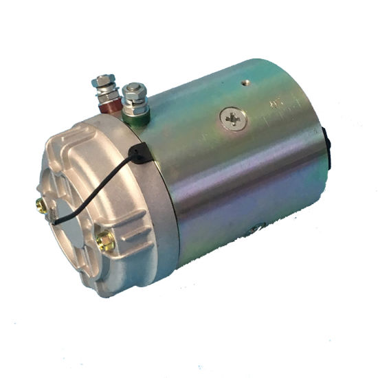 Chinese Supplier Micro Brush Hydraulic DC Motor with Cw Rotation