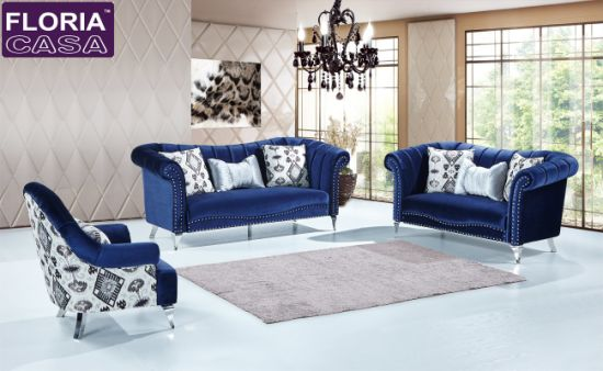 Furniture Factory Modern Fabric Sofa