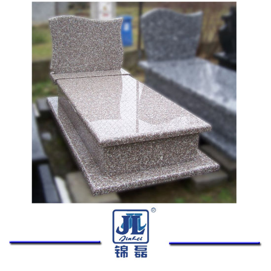 China Granite Popular Poland Style G664 Granite Carving Monument Tombstone for Memorial/Cemetery