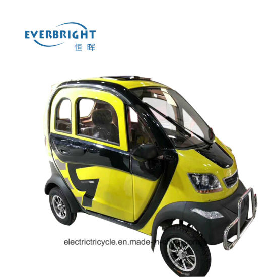 Unique Designed Mini Open Type Electric Adult Car for Old People