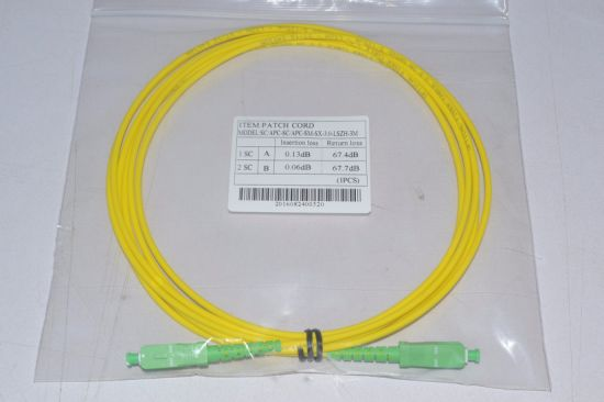 Manufacturer for Sc LC St FC E2000 Standard Fiber Optic Patch Cord