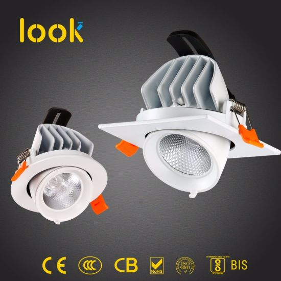 Ce Bis LED Interior Lighting Modern Commercial Recessed Down Light