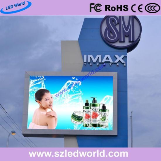 6mm Outdoor SMD LED Digital Display on The Building pictures & photos