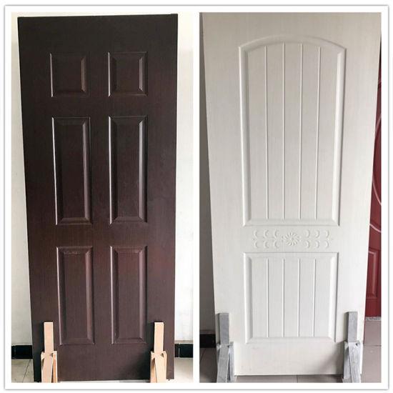 China Interior Solid Wood Panel Doors Design Veneer Laminated Wood