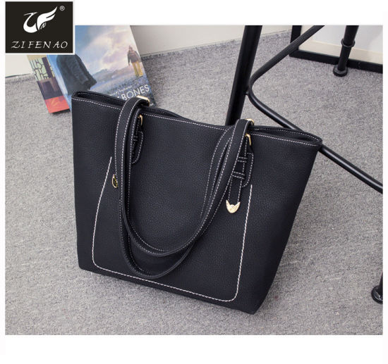 b54185b1021f4 Fashion Style Elegant Women Bags Cheap PU Leather Handbags Lady Tote Bags  with Custom Logo 2018. Get Latest Price