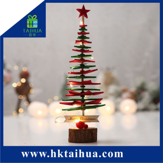 bbeae2cba840 Traditional Christmas Gift Artificial Slim Creative Christmas Tree on The  Table. Get Latest Price