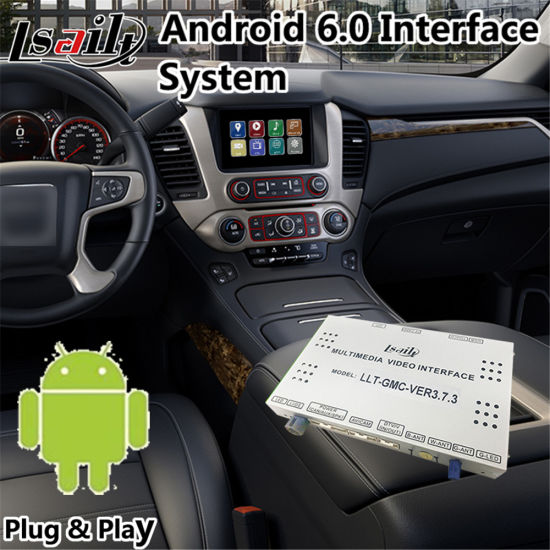 China Android 6 0 Video Interface Navigation System for Gmc