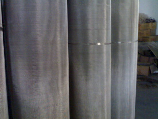Plain Weave and Twill Weave Stainless Steel Wire Cloth pictures & photos